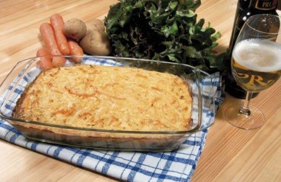 Pilz-Rezept: Champignon-Kartoffel-Gratin