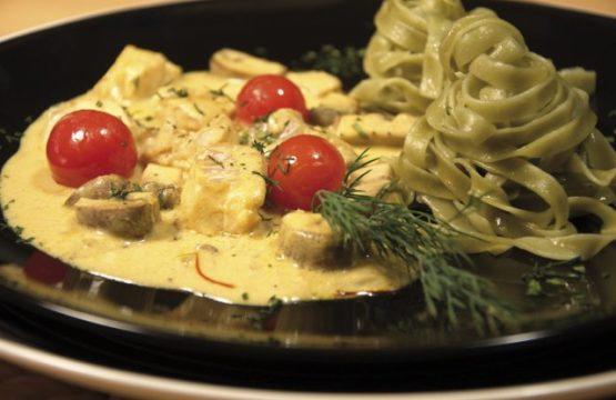 Pilz-Rezept: Fischragout mit Pilzen