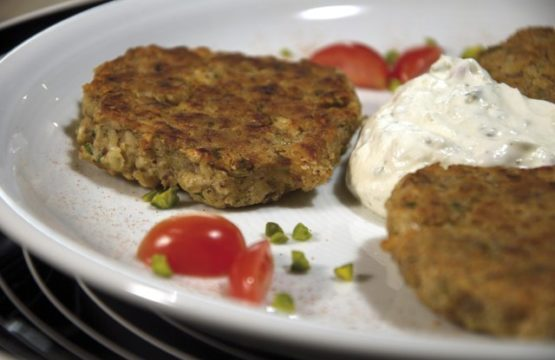 Pilz-Rezept: Vegetarische Bratlinge aus Pilzen und Bohnen