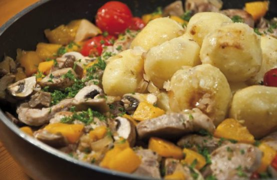 Pilz-Rezept: Pilz-Kürbis-Gemüse