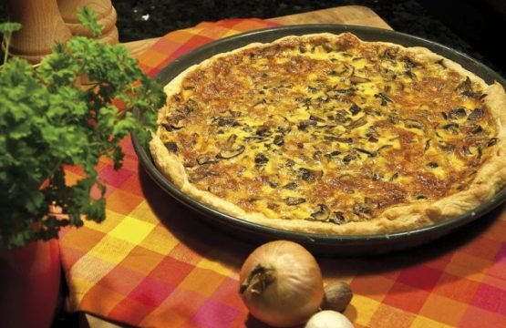 Pilz-Rezept: Quiche mit Austernpilzen und Champignons