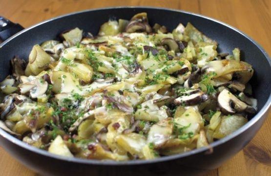 Pilz-Rezept: Vogelsberger Pilzpfanne